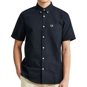 Fred Perry M3531 Classic Oxford Short Sleeve Shirt